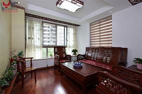 107平米三居客厅中式装修欣赏图片大全