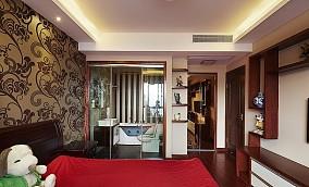 热门面积78平小户型卧室中式设计效果图
