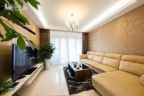 精选面积80平小户型客厅简约装修欣赏图片