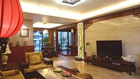中式一居客厅装修图