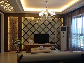 精选75平米简约小户型客厅装修设计效果图片