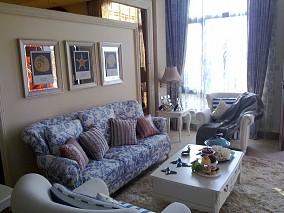 热门113平方地中海别墅客厅装修欣赏图