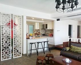 中式小户型厨房装修欣赏图片