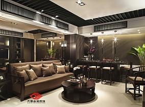 2018精选72平米中式小户型客厅欣赏图