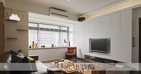 2018精选91平客厅三居现代装饰图片
