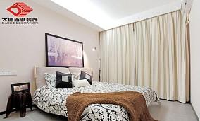2018大小94平欧式三居卧室效果图片