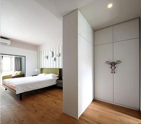 精美简约二居卧室效果图片