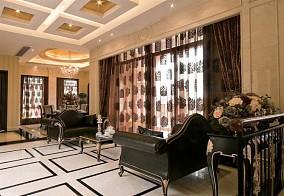精选115平方欧式别墅休闲区装修效果图片大全