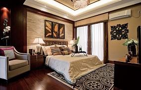 精美东南亚别墅卧室装修实景图片欣赏