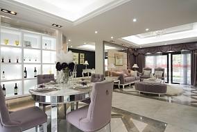 精美欧式一居餐厅装修实景图