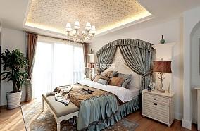 2018地中海小户型卧室装饰图片欣赏
