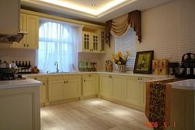 热门89平米简约小户型厨房装修实景图片欣赏