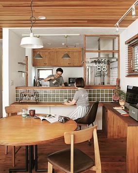 厨房美式田园设计图片赏析