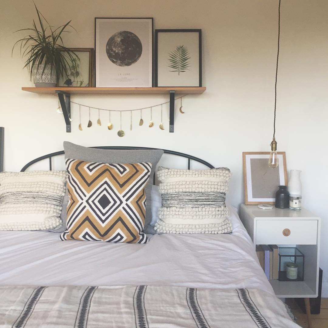 卧室窗帘中式现代卧室设计图片赏析