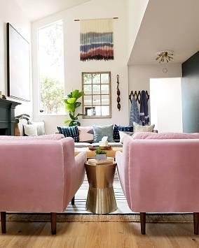 客厅中式现代设计图片赏析