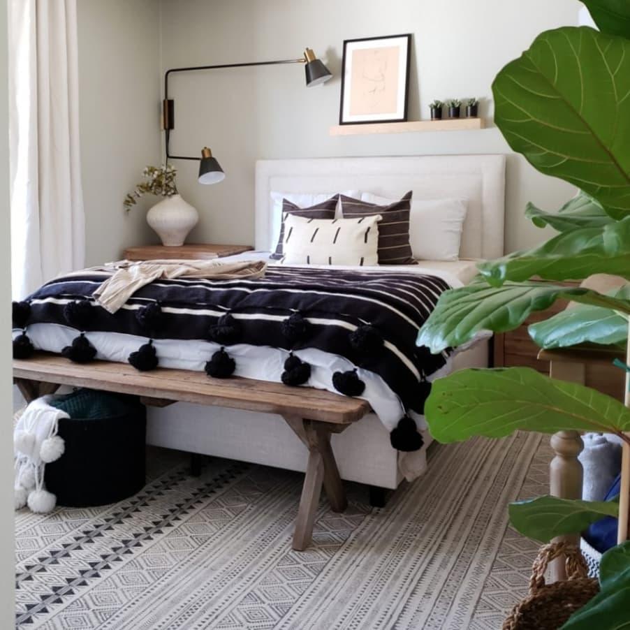 卧室北欧极简卧室设计图片赏析