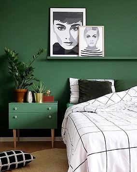 卧室美式田园设计图片赏析