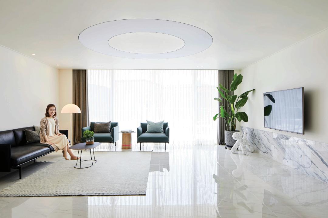 客厅沙发现代简约客厅设计图片赏析
