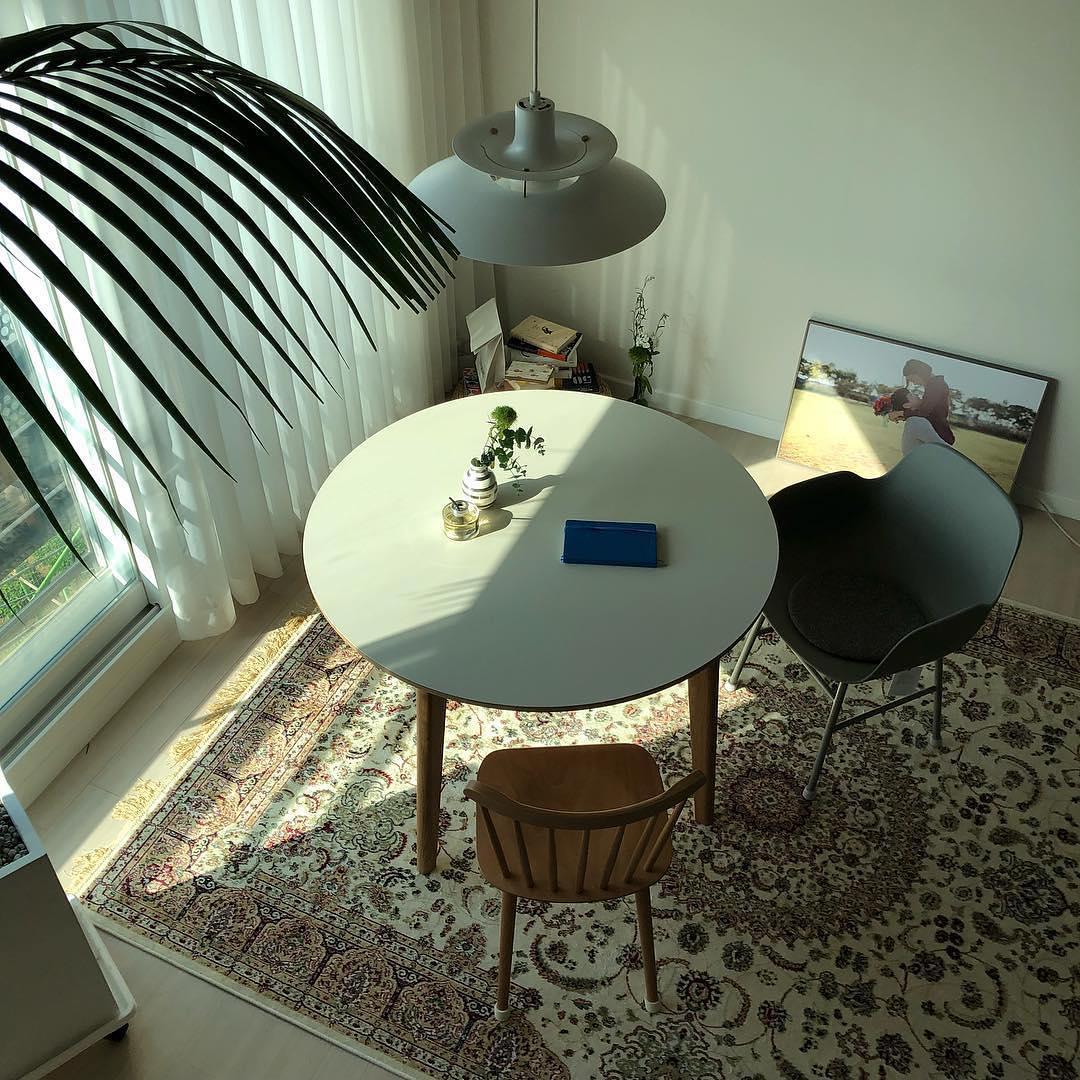 厨房北欧极简餐厅设计图片赏析