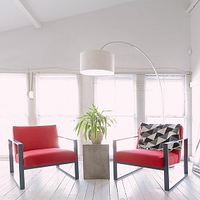 客厅北欧极简设计图片赏析
