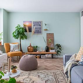 客厅美式田园设计图片赏析