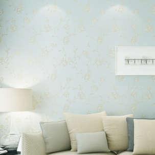 【B】欣旺 欧式田园墙纸 卧室无纺布壁纸 客厅书房电视背景墙壁纸