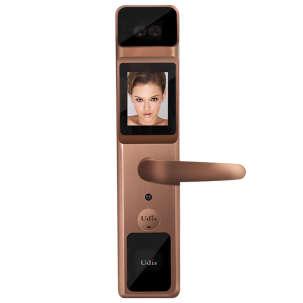 udis人脸识别智能锁 秒杀指纹锁 家用防盗门高档密码锁A5