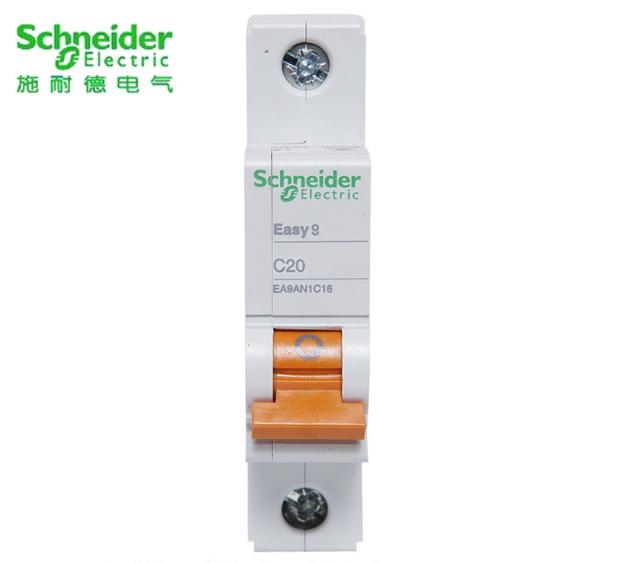 施耐德EA9AN 小型断路器 1P C20A
