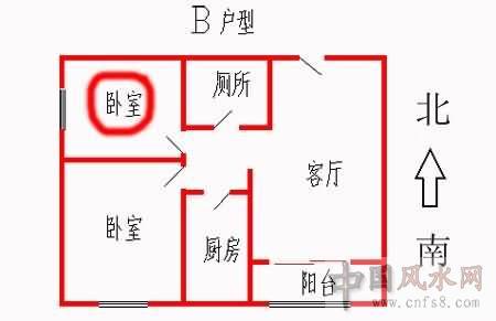东北平房室内设计图