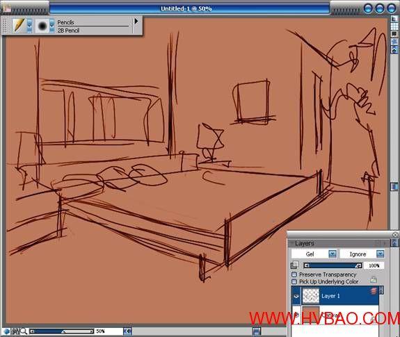 室内设计图纸画法