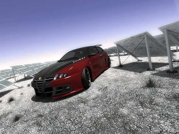 三维设计师虚拟世界的出色酷车