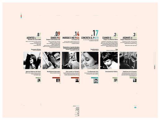 国外刊物排版设计欣赏 高清图片